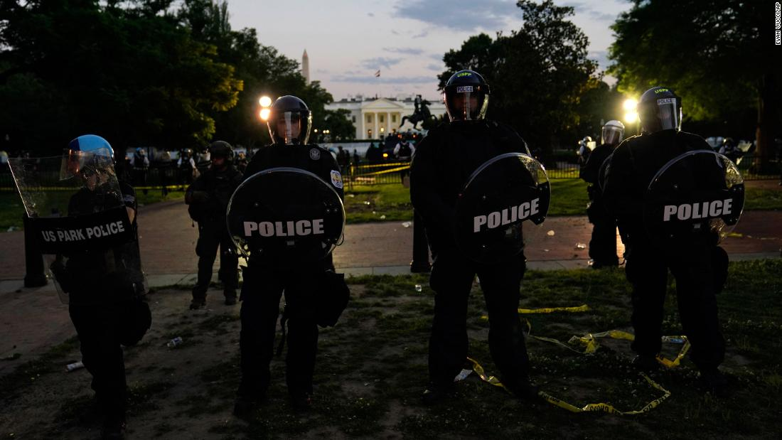 Trump briefly taken to underground bunker during Friday's White House protests thumbnail