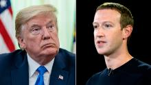 Trump and Zuckerberg spoke on the phone Friday