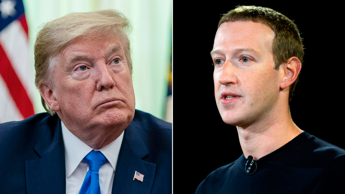 Facebook says it took down Trump ads because they used Nazi symbol