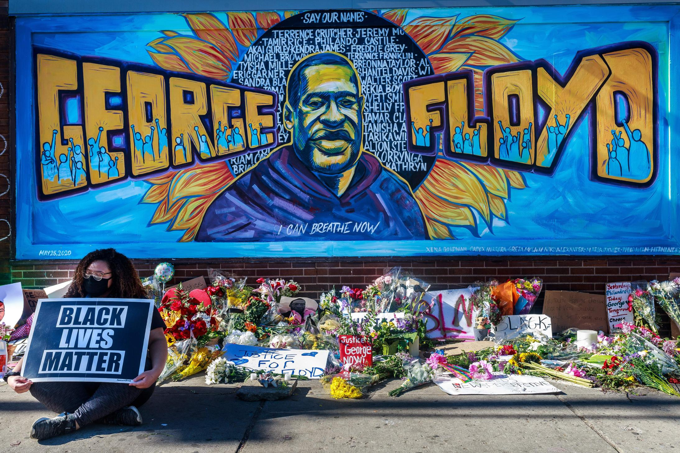 The people creating art to remember George Floyd - CNN Style