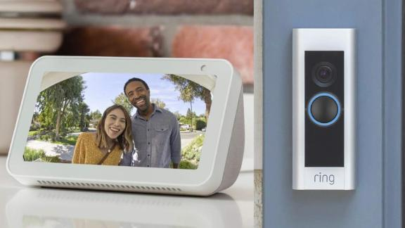 Ring Video Doorbell Sale Save On The Refurb Pro Bundled With A Refurb Echo Show 5 At Amazon Cnn Underscored