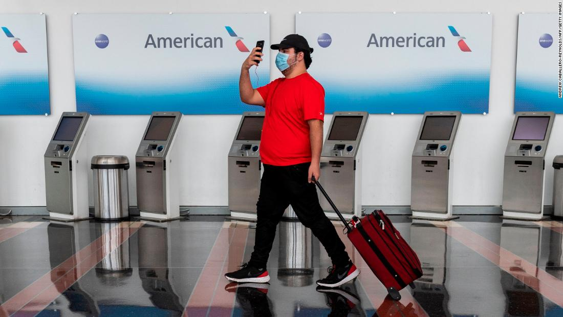 Air travel is bouncing back ... sort of