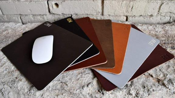Northwind Supply Customized Leather Mouse Pad