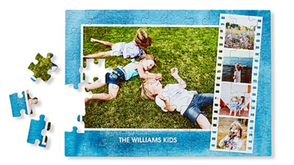 Shutterfly Photo Gallery Puzzle