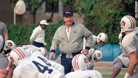 Pat Dye was inducted into the College Football Hall of Fame in 2005.