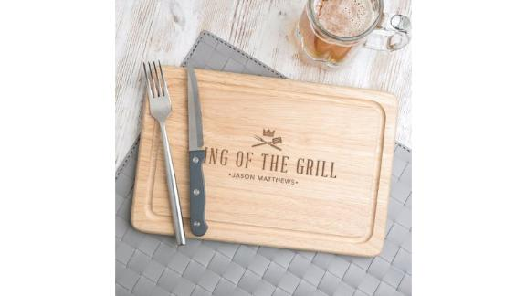 King Of The Grill Cutting Board