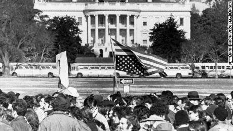 How former US presidents dealt with activists and mass protests
