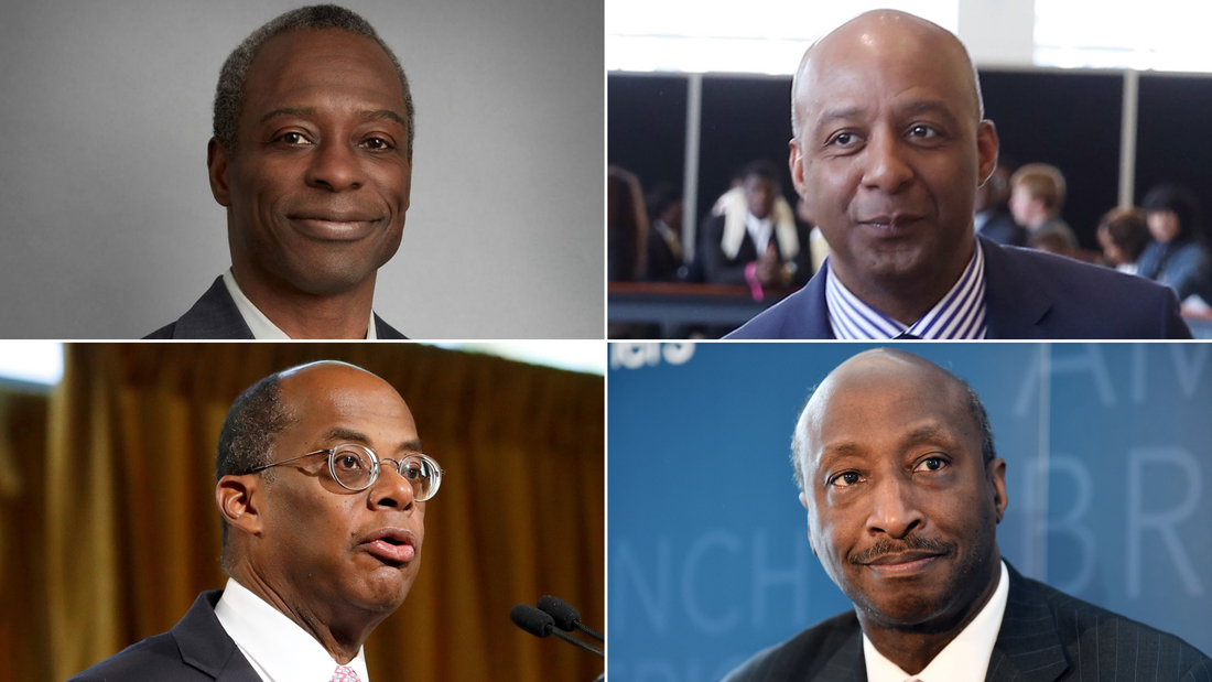 There are just four black CEOs of Fortune 500 companies. Here's how three are addressing it
