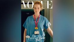 A  midwife, a train driver and a store worker are British Vogue's latest cover stars