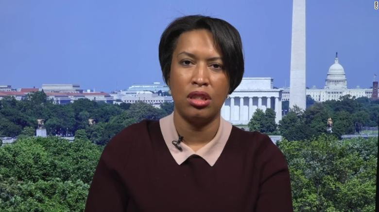 Mayor Muriel Bowser joins protesters: 'We all should be watching what's  happening in Washington, DC' - CNNPolitics