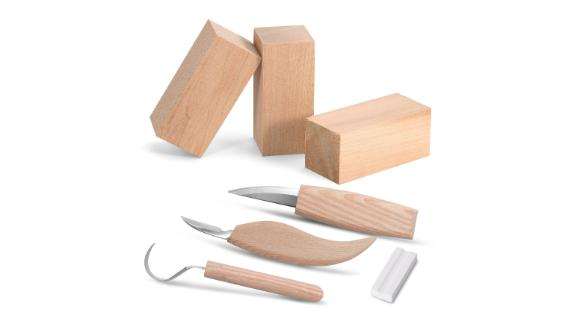 Knife Whittling Woodworking Set