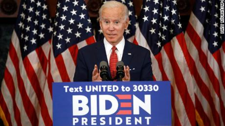 Biden sharpens contrast with Trump: 'I won't traffic in fear and division'