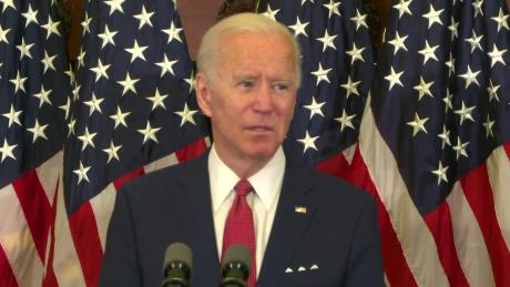 Joe Biden hits a milestone Hillary Clinton never did: 50%