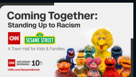 Join the Sesame Street gang for a conversation about racism, protests and embracing diversity.
