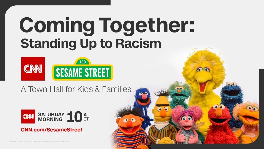 CNN and 'Sesame Street' to host a town hall addressing racism - CNN