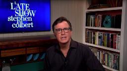 TV changed last night: Stephen Colbert got somber and ViacomCBS stations went dark