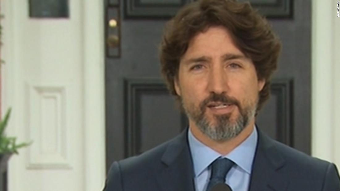 Justin Trudeau was asked about President Trump. See how long it took him to respond - CNN Video