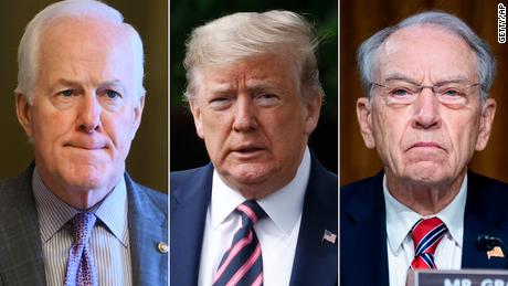 Cei mai buni senatori republicani apără ședința foto a Bisericii Trump după evacuarea unor protestatari pașnici