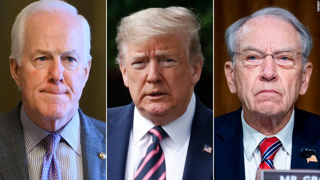 Senate Republicans split with White House over key elements of emerging GOP stimulus plan – CNN