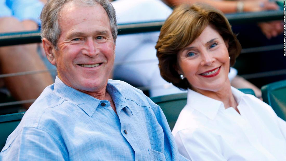 George W. Bush finally steps onto the right side of history