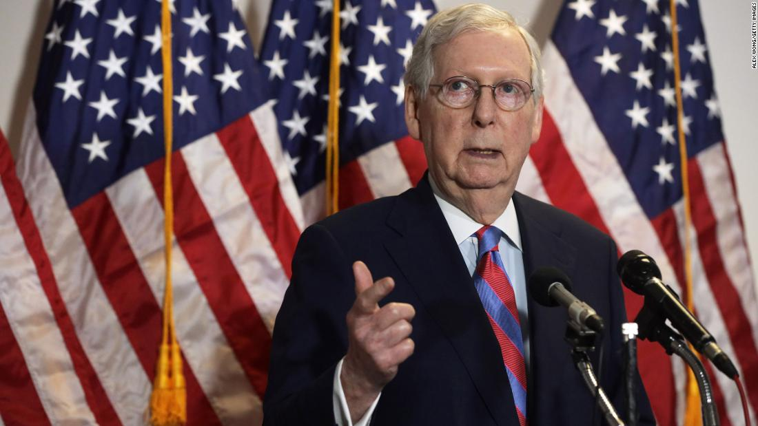 Opinion: Attention Mitch: Filling RBG's seat now could break American democracy