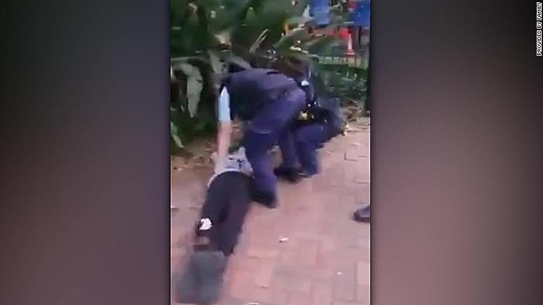 Video shows Australian police trip and throw down Indigenous teen