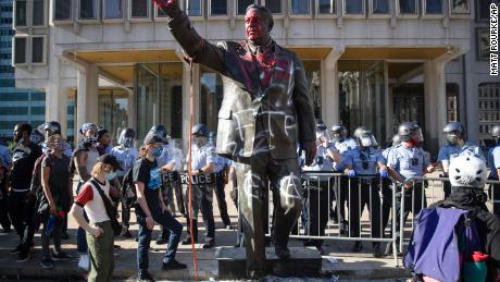 These controversial statues have been removed following protests over George Floyd's death