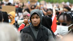 'Now is the time': Emotional John Boyega addresses protesters at London Black Lives Matter rally