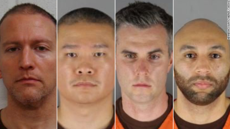 Derek Chauvin, Tou Thao, Thomas Lane and J. Alexander Kueng are facing charges in the death George Floyd.