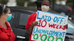 America's unemployment rate is expected to hit 20% in today's jobs report