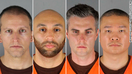 What we know about the four former cops charged with George Floyd's death