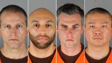 What we know about the four former police officers charged in George Floyd's death