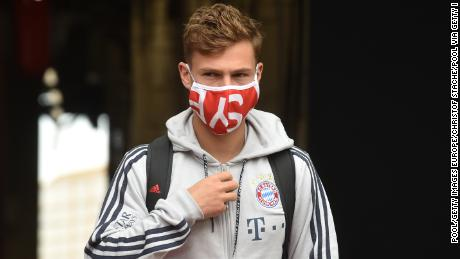 Joshua Kimmich says players have the 'responsibility' to join racism protests.
