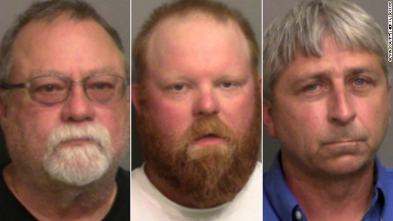 "Gregory McMichael, Travis McMichael and William ""Roddie"" Bryan, Jr. faces charges in Arbery's killing."