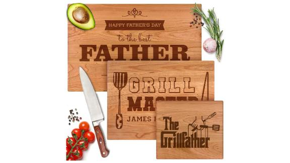 Personalized Cutting Board Gift for Dad