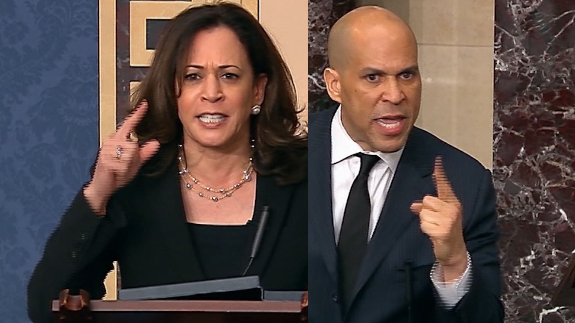 Paul holds up anti-lynching bill. See Harris and Booker's response. - CNN  Video