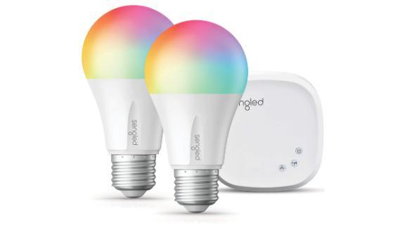 Two Smart Light Bulbs & Hub