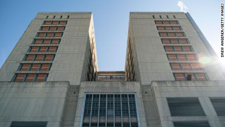 An exterior view of the Metropolitan Detention Center on February 4, 2019 in the Brooklyn borough of New York.