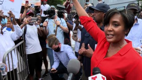Atlanta Mayor Keisha Lance Bottoms says she tested positive for coronavirus