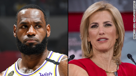 LeBron James calls out Fox News host Laura Ingraham for defense of Drew Brees