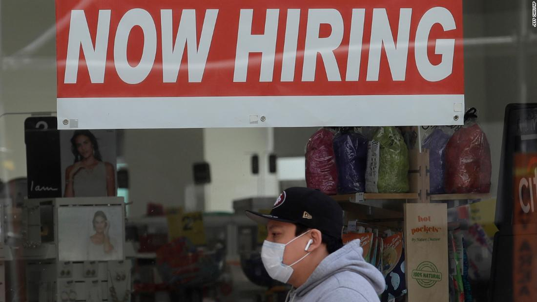 www.cnn.com: America's unemployment rate falls to 13.3% as economy posts surprise job gains
