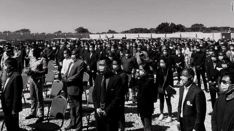 A memorial for the Chinese victims was held on Monday this week in Lusaka.