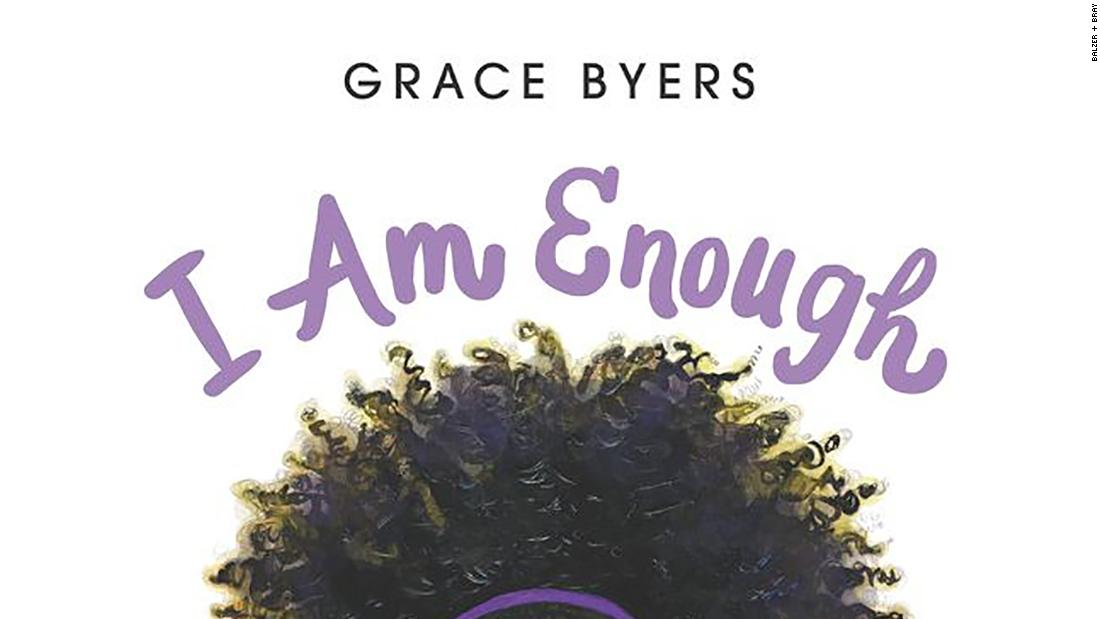 "In writing ""I Am Enough,"" Empire actor Grace Byer wants children to know that they can love themselves and be enough."
