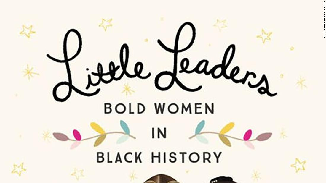 "Vashti Harrison introduces her little readers to ""Little Leaders: Bold Women in History,"" black women who made history."
