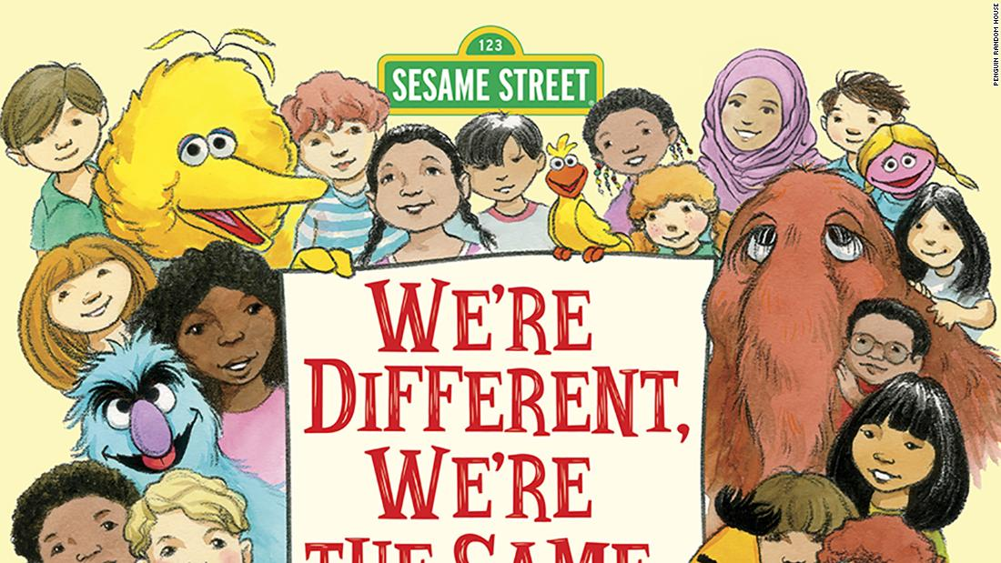 "Elmo, Bird Bird, Bert and Ernie and the rest of the Sesame Street gang explain that ""We're Different, We're the Same,"" in the 1992 classic by Bobbi Kates now topping the Amazon children's best seller list."