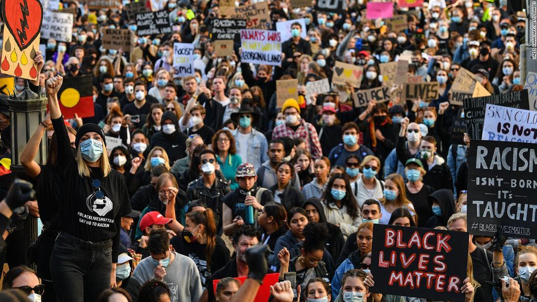 In Australia, protesters demand justice over minority deaths in custody