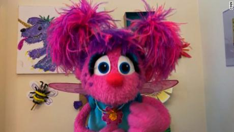 Abby Cadabby shares a personal story