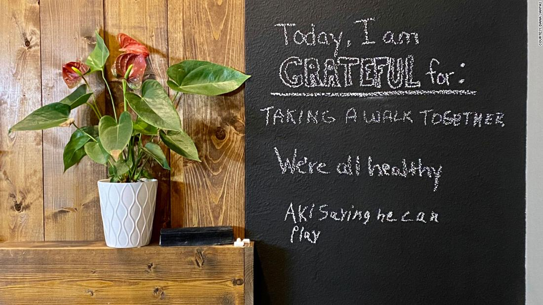 <strong>Start a daily gratitude practice:</strong> Families can cultivate a consistent attitude of gratitude by incorporating giving thanks during family meals or using some form of communal gratitude jar, whiteboard or journal.