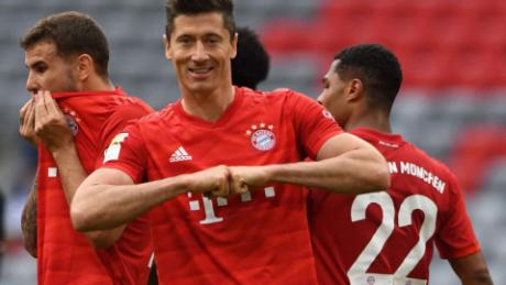 Robert Lewandowski a marcat 30 de goluri din Bundesliga în acest sezon.