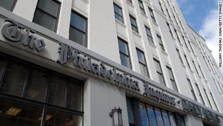 The top editor of the Philadelphia Inquirer has stepped down.